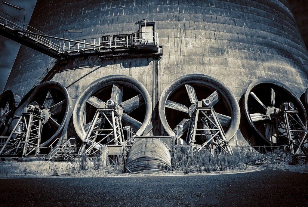 diferentes tipos de ventiladores industriales